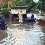 Regenfälle halten an aber mit weniger Intensität