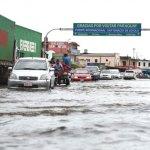 Rio Pilcomayo beeinflusst Grenzübergang