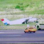 Silvio Pettirossi: Flugzeug kommt von der Startbahn ab