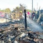 Beim Fischen brannten ihre Häuser ab
