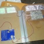 Festnahme wegen Artefakt was Bombenalarm auslöste