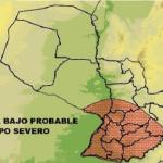 Fast ganz Paraguay wird getroffen