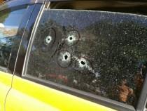 Fahrgast im Taxi erschossen