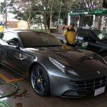 Ein Ferrari aus Paraguay sorgt für Wirbel in Brasilien