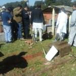 Mord auf dem Friedhof