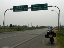 Reparatur der Transchaco Route hat begonnen