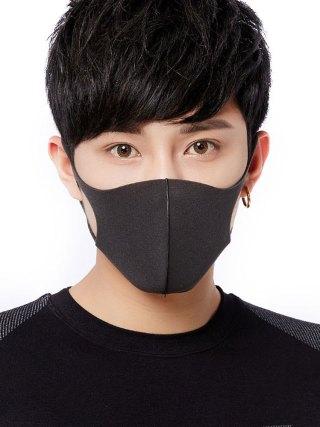 100 Pcs Washable Dust ProofReusable Face Mouth Mask , Breathable Super Soft Fabric, Fashion Slim Face Design