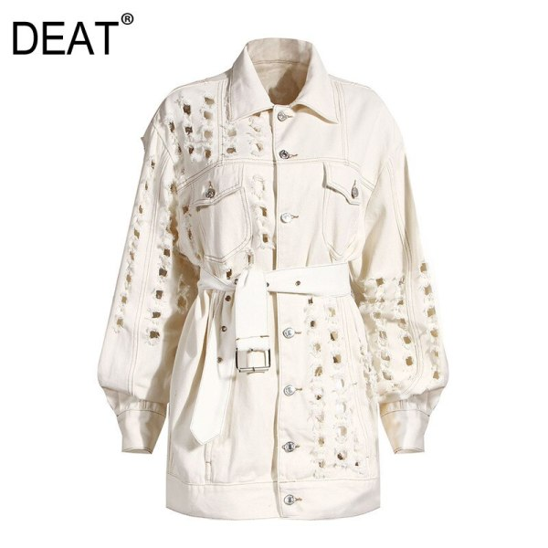 DEAT NEW autumn and winter full sleeves metallic hole