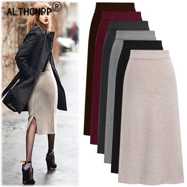 Excessive Waist Skirts Womens Streetwear