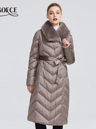 Girls's Jacket With Rabbit Collar Girls Winte