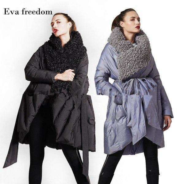 Eva Freedom Unique Design down coat girl winter