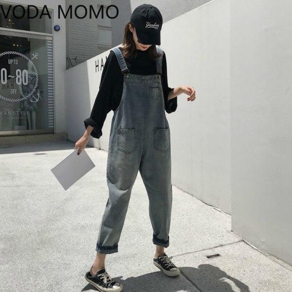 Sleeveless Denim Jumpsuit Girls Overalls Jumpsuits