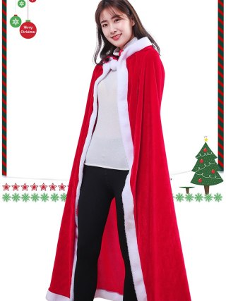 Christmas Kids Grownup Cape Cloak Delicate