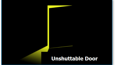 Unshuttable Door