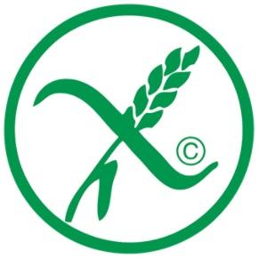 znak informujący o braku glutenu w produkcie