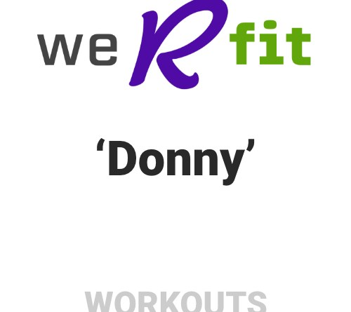 CrossFit Donny Workout