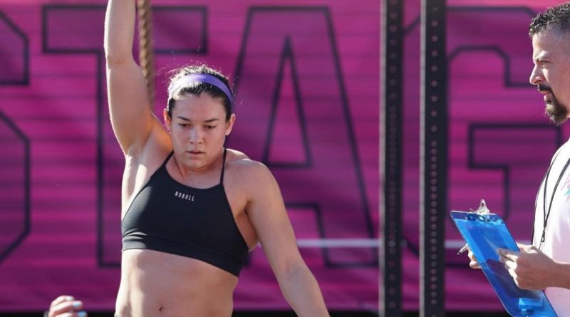 Mia Mellon has been doing CrossFit for only two years