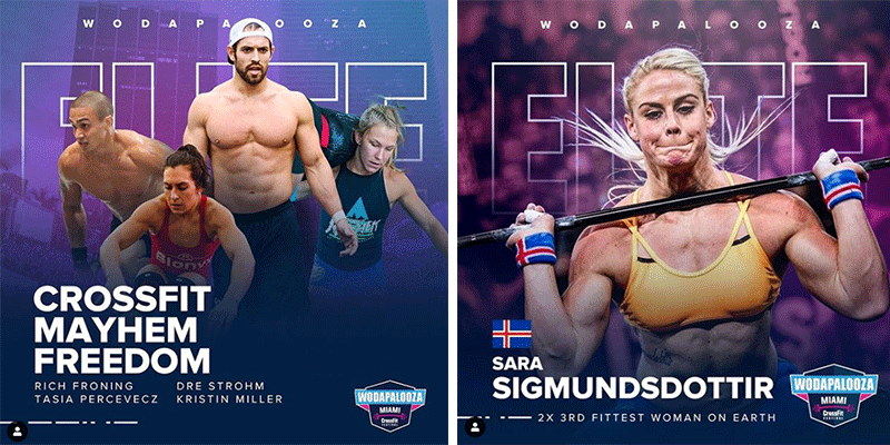 Wodapalooza 2019 Athletes to Watch