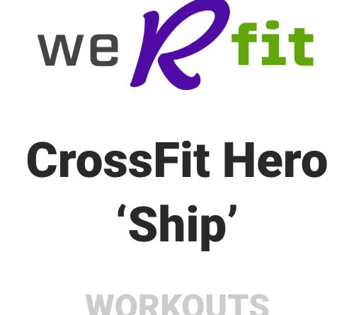 CrossFit Ship Workout