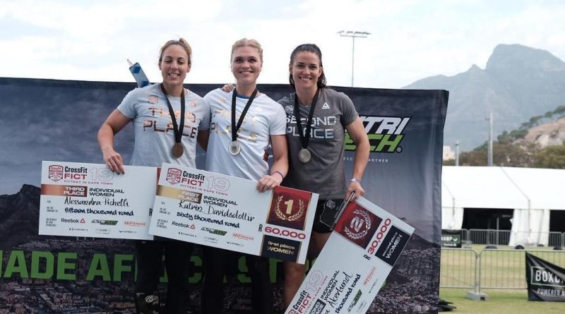 Katrin Davidsdottir wins the 2019 CrossFit Fittest in Cape Town sanctional qualifying event