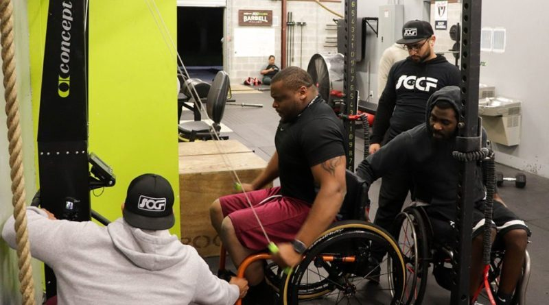 A South Orlando gym is focusing on making sure CrossFit is available to people with spinal cord injuries