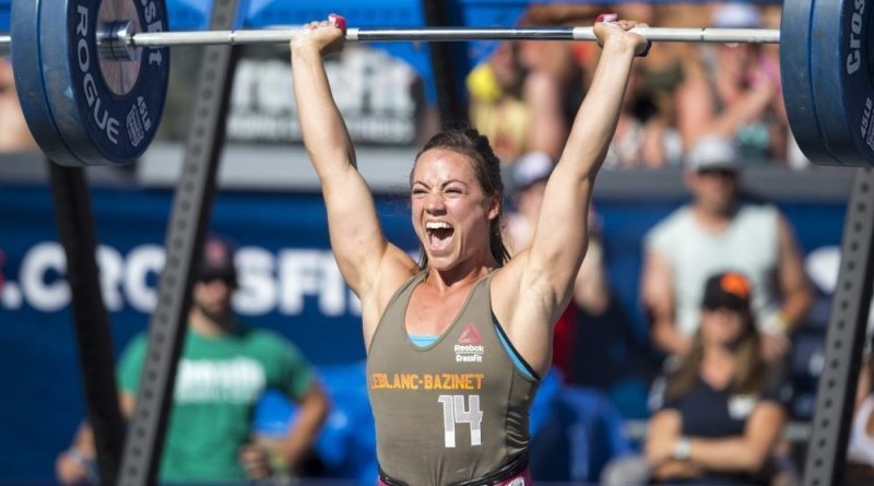 Camille Leblanc-Bazinet at the CrossFit Games ©2015 CrossFit Inc. Used with permission from CrossFit Inc.