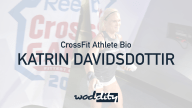 Katrin Davidsdottir is a two-time fittest woman on earth