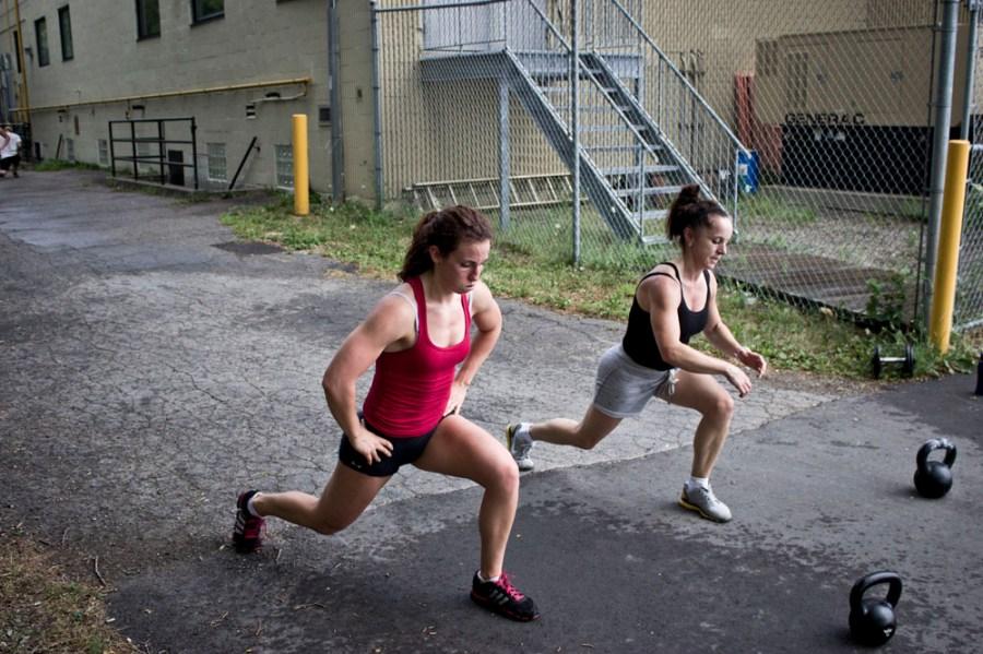 Du run et des lunges pour ce wod costaud