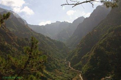 Madeira - Blick ins Tal