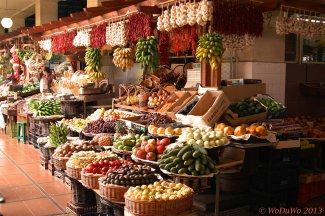 Markt in Funcal / Madeira