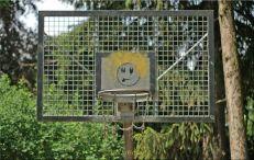 """""""verzierter"""" Basketballkorb"""