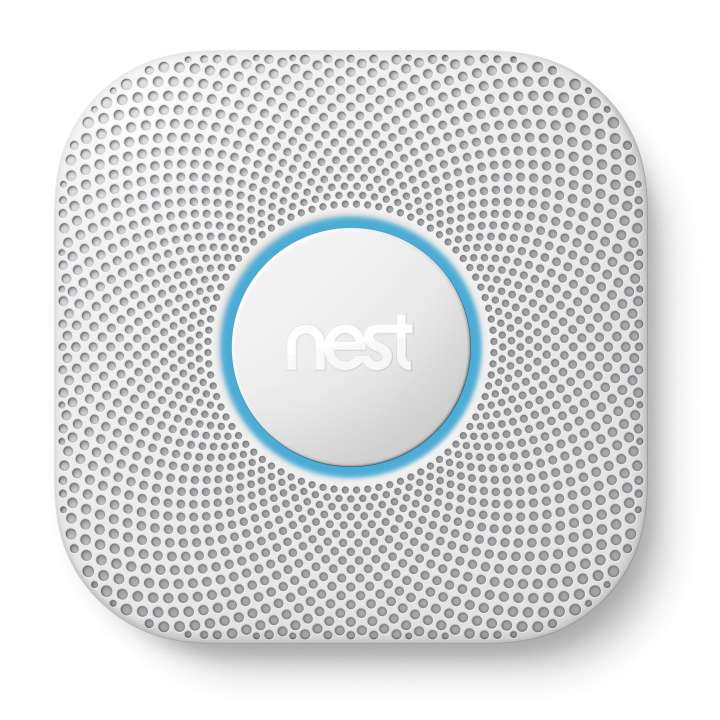 S3005PWLUS NEST Nest Protect 2nd Generation, Pro, 120 Volt, SMOKE AND CO DETECTOR WITH BATTERY BACK UP - White COMPLIES WITH UL2034 AND UL217