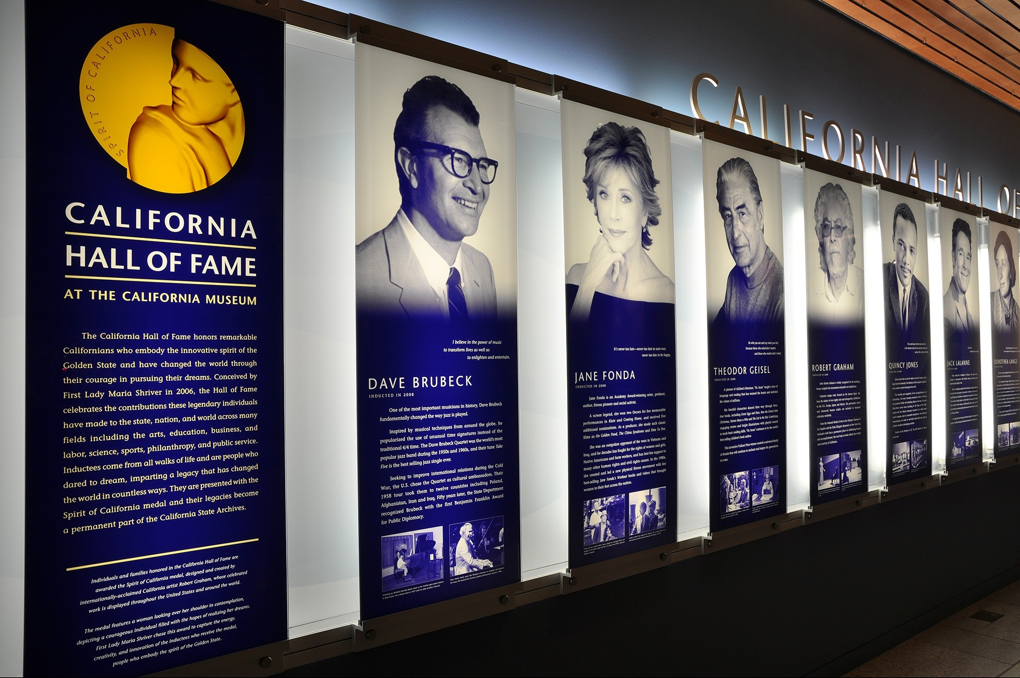 The California Museum California Hall Of Fame West Office