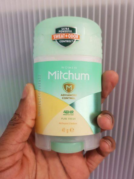 deodorant mitchum antiperspirant review