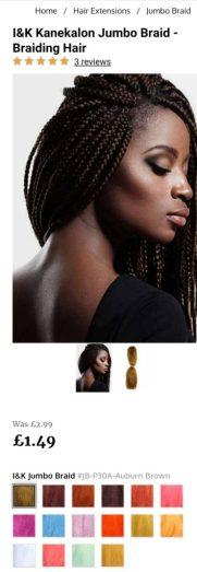 hairtrade screenshot braids