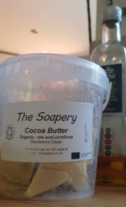 woeful to frofull the soapery cocoa butter evoo