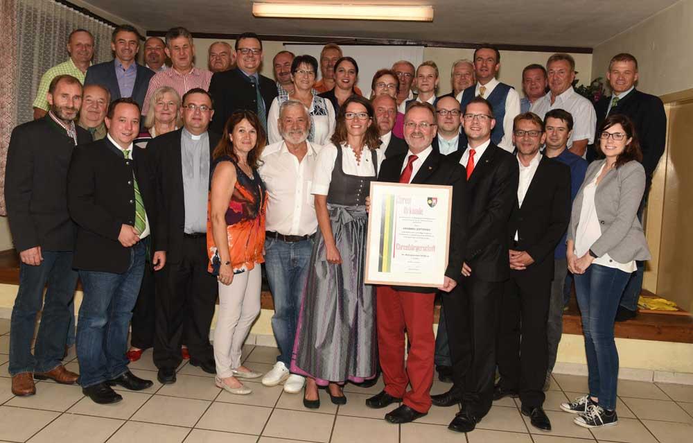Ehrenbürgerschaft Gottfried Krammel, Bgm.a.D.
