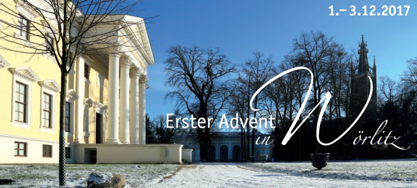 Erster Advent in Wörlitz