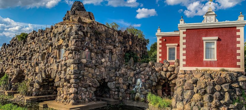 Der Vesuv von Wörlitz bricht wieder aus