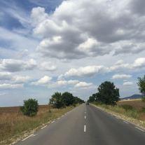 Bulgarische Landstraße