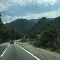 Olt-Tal durch die Karpaten