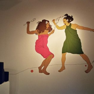 Chicksilog mural + video