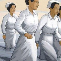 MacArthur Nurses (Romulo and MacArthur)