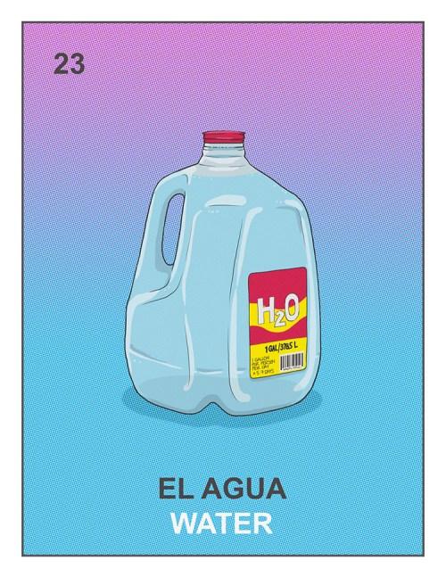 23 LOTERIA Agua sm