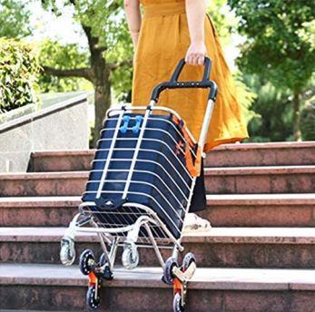 carro de compra para escaleras