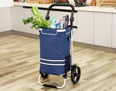 hopfällbar shoppingvagn