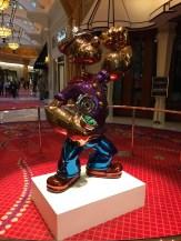 Popeye Sculpture at Wynn Casino Hotel