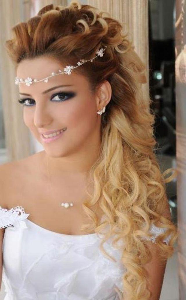 wedding hair down - cantik.co