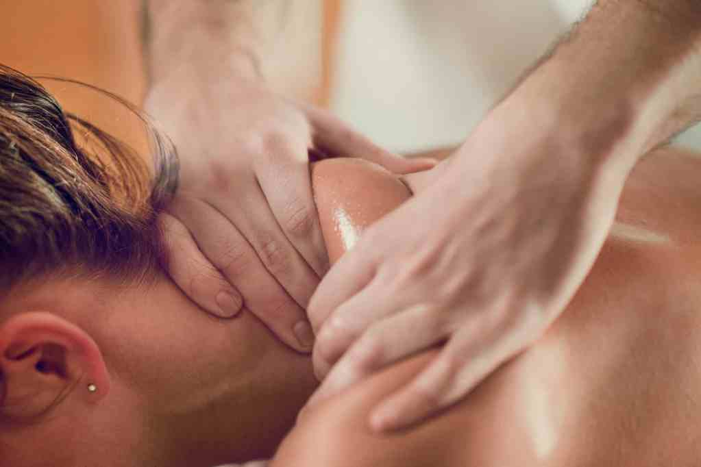 Relaxing Shoulders Massage
