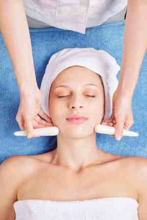 Stone sticks massage